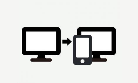 様々なスマートフォンで見やすいホームページを制作します